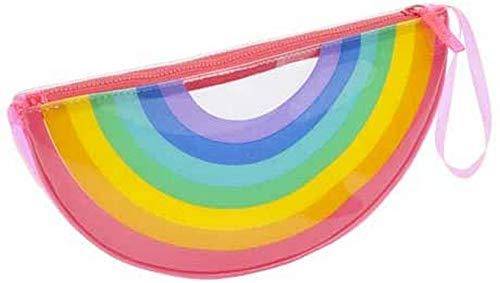 SunnyLIFE Girls Rainbow See Thru Pochette Multicolore Taille unique