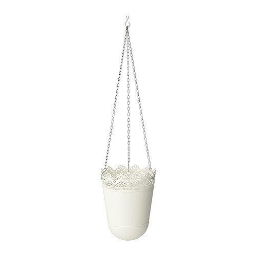 Ikea SKURAR Ampel in elfenbeinweiß; (12cm)