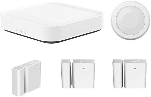 Kami Smart Security Starter-Set mit Basisstation, kabelloser...