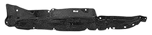 OE Replacement Nissan/Datsun Pickup Front Driver Side Fender Inner Panel (Partslink Number NI1248103)