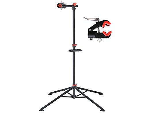 P4B | Fahrradmontageständer - auch für Ihr Mountainbike | Robuste Fahrradhalterung | Reparaturständer für Fahrräder jeder Art - bis 30 kg | Mit sinnvollen Features für die Fahrradreparatur