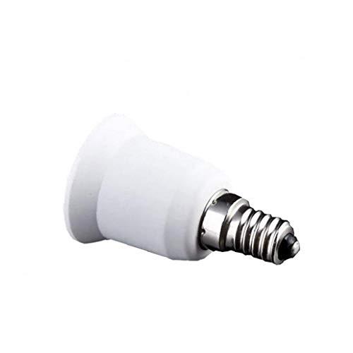 IUwnHceE E14 a E27 Led Zócalo De Lámpara De Luz De La Lámpara del Casquillo Adaptador De La Base del Zócalo del Convertidor Edison Tornillo para Interiores Y Exteriores