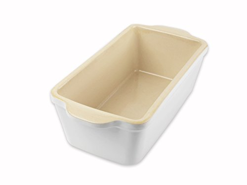 USA Pan Stoneware Loaf Baking Dish, 1 Pound