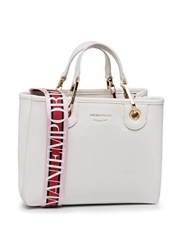 Emporio Armani Damen Handtaschen Y3D166 YFO5B Weiß Talla única