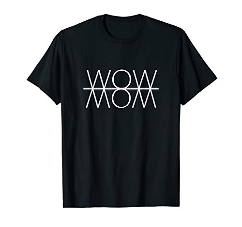 WOW Einzigartiges Reflection Optical Art T-Shirt