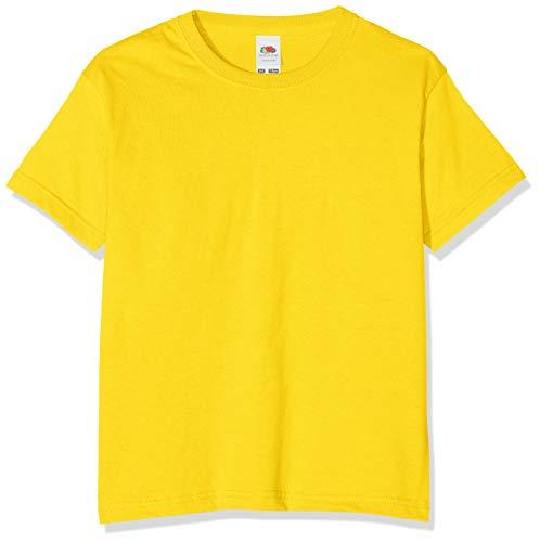 , Camiseta Niño, Amarillo limón