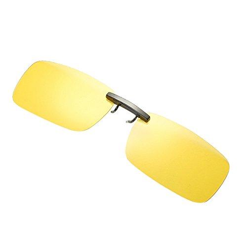 Sallydream Gafas de sol con clip, Gafas de sol polarizadas UV400 para hombre y mujer, ajuste cómodo y seguro sobre gafas de sol para conducción y al aire libre
