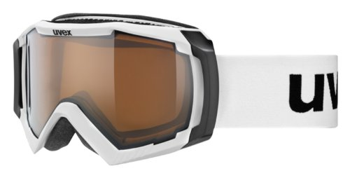 Uvex Skibrille Apache II VP, White Mat, One Size