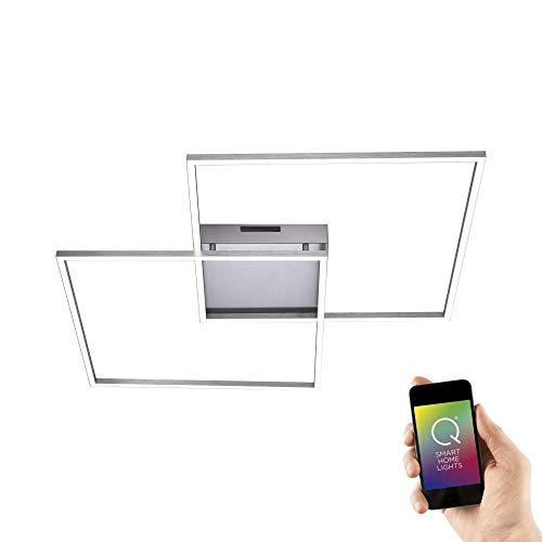 Paul Neuhaus, LED-Deckenleuchte, Smart Home, CCT Farbwechsel, dimmbar warmweiß - kaltweiß