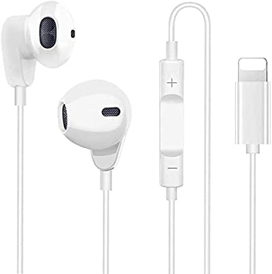 SAMERIVER In Ear Headphones for iPhone 12, HiFi Stereo Earphones for iPhone 7, Wired Earbuds with Mic and Volume Control Compatible with iPhone 11 Pro Max X XS XR 8 Plus 7 Plus from Sameriver