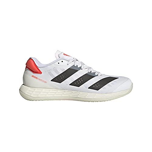 adidas Adizero Fastcourt 2.0 M, Zapatillas de Running, FTWBLA/NEGBÁS/Rojsol, 37 1/3 EU