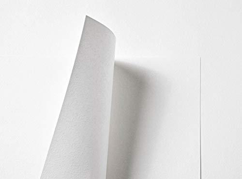 Papel en relieve de nieve en polvo de doble cara, 116 g/m², 10 hojas