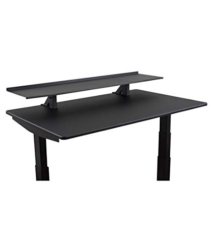"""Stand Up Desk Store 60"""" Clamp-On Desk Shelf 
