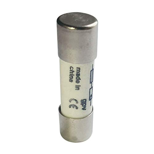 Summerwindy 10 Stk 1000 VDC Schmelzsicherung Solar PV Explosionsgeschuetzte Sicherung Silber - 10A