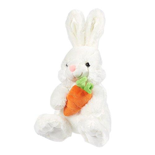 Blue Panda Easter Basket Stuffers, Bunny Stuffed Animal (White, 13 in.)