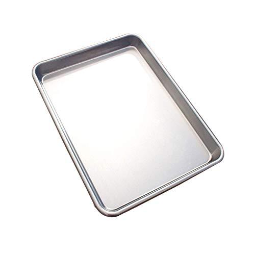 Blacha do pieczenia Blacha do pieczenia, blacha do pieczenia ze stali aluminiowanej Profesjonalna, Blacha do pieczenia do domowej kuchni i cateringu - Bez PFOA, 1 OPAKOWANIE