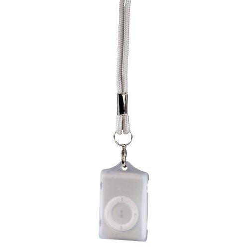 Hama Silicon Case Tasche für Apple iPod Shuffle 2. Generation transparent
