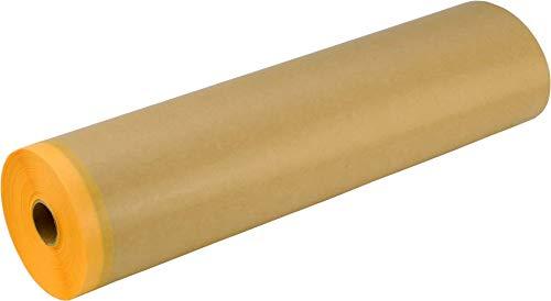エス・オー・エー(S.O.A.) 和紙テープ付き紙マスカー 車輛用和紙マスキングテープ付きクラフト紙マスカー AKK3MDYP30035 車輛塗装用 25入