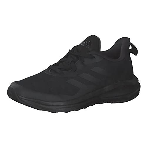 adidas Fortarun K, Zapatillas de Running Unisex Adulto, NEGBÁS/NEGBÁS/NEGBÁS, 39 1/3 EU
