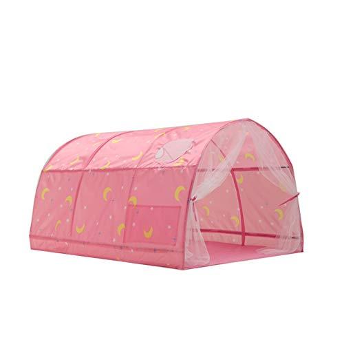 Goodvk Tienda Infantil Indoor Playhouse House Kids Play Play Tent Childrens Tienda para niños Niñas Plazas de Interior y al Aire Libre Regalos para Niños (Color : Pink, Size : 140×100×80 cm)