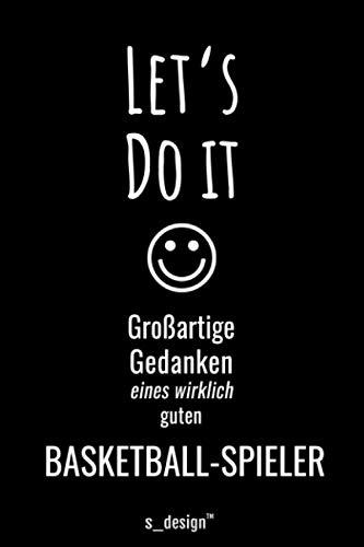 Notizbuch für Basketballer / Basketball-Spieler: Originelle Geschenk-Idee [120 Seiten kariertes blanko Papier]