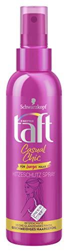 Schwarzkopf 3 Wetter taft Casual Chic langes Haar Hitzeschutz, 1er Pack (1 x 150 ml)