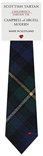 I Luv Ltd Garçon Tout Cravate en Laine Tissé et Fabriqué en Ecosse à Campbell of Argyll Modern Tartan