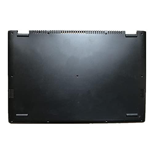 fqparts Cubierta Inferior de la Caja del Ordenador portátil D Shell para Lenovo Yoga 2 Pro Color Negro