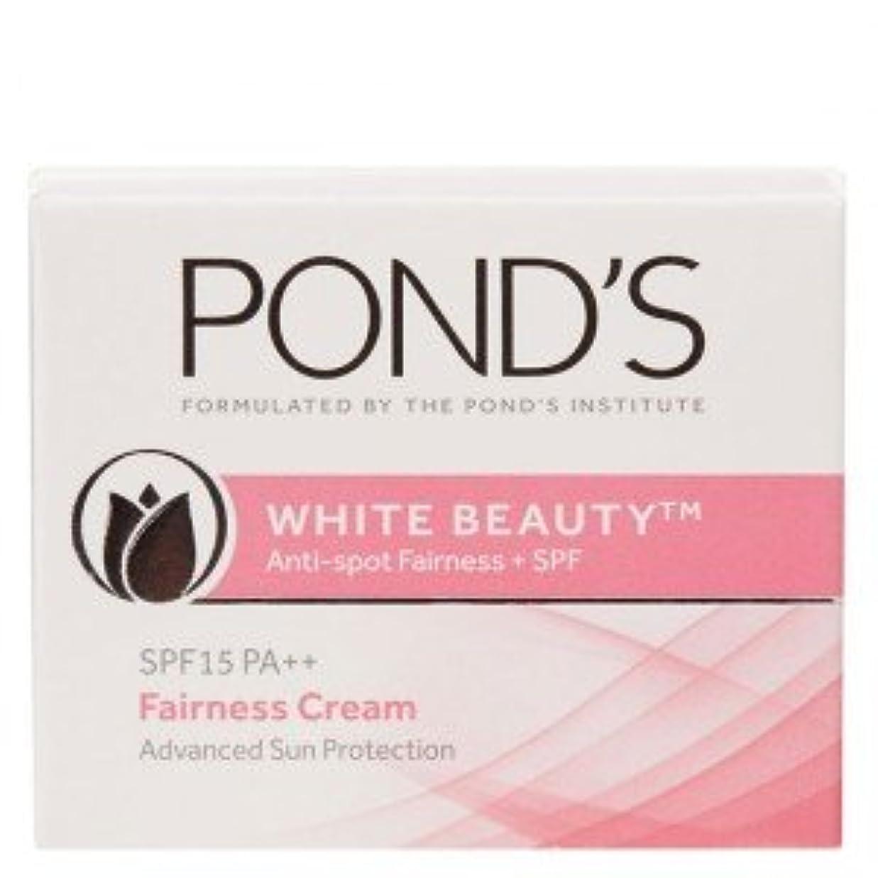 リレーサンプル連想Ponds White Beauty Anti Spot-less Fairness Cream SPF 15 PA++ (50gm)