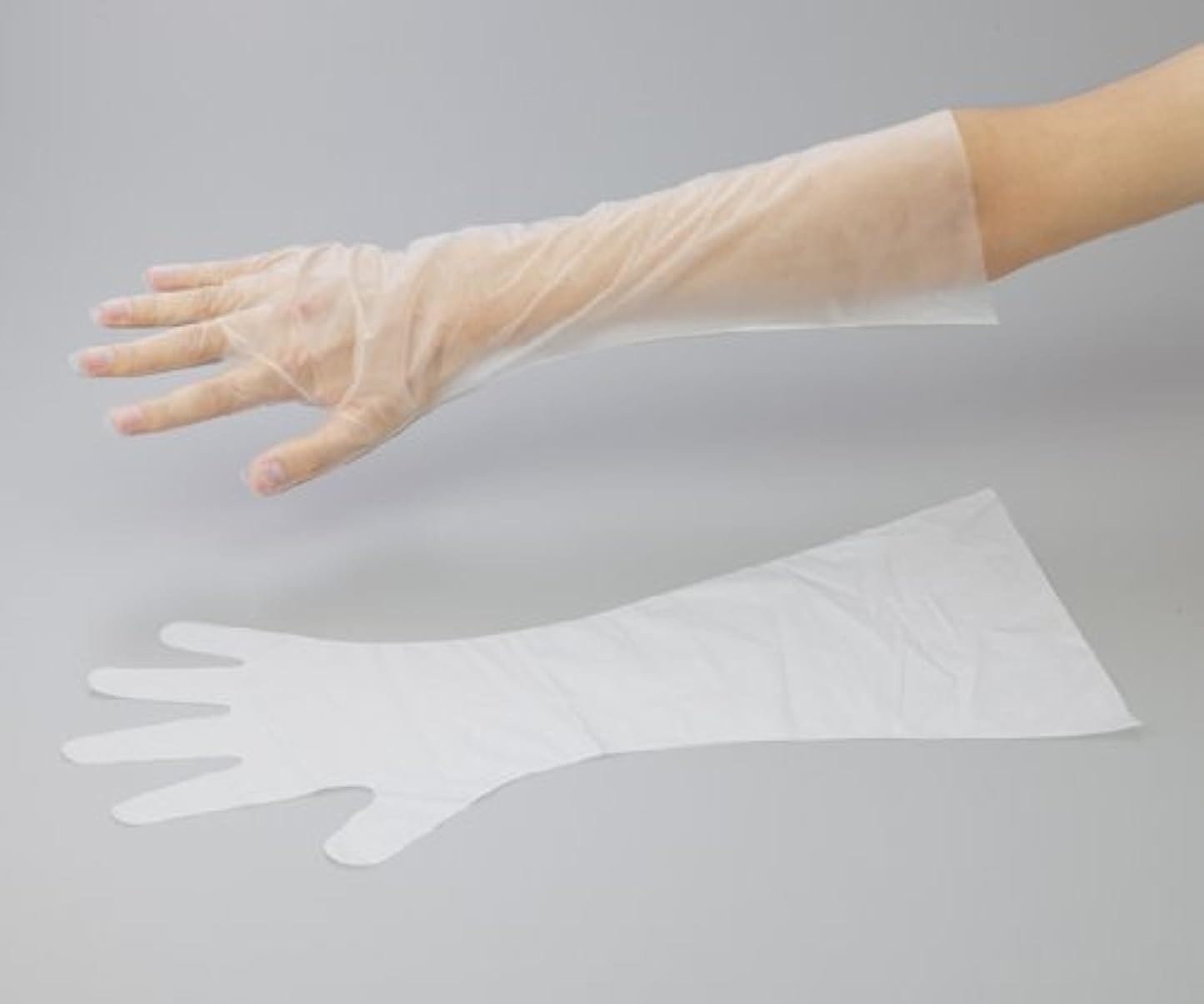 アズワン6-9730-13サニーノール手袋エコロジー白ロングS100枚入