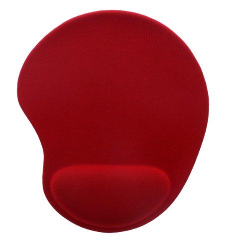 T'nB Ergo Design Tapis de souris repose-poignets gel Rouge