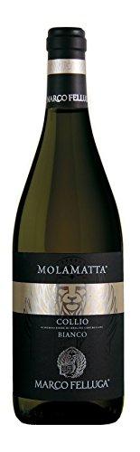 6x 0,75l - 2015er - Marco Felluga - Molamatta - Bianco - Collio D.O.C. - Friaul - Italien - Weißwein trocken