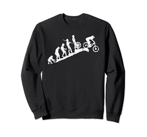Evolution Downhill Mountain Bike MTB Mountain Biking Sweatshirt
