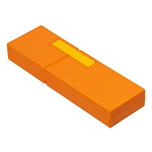 ナカバヤシ ディスプレイペンケース L 筆箱 オレンジ PCN-DP02OR
