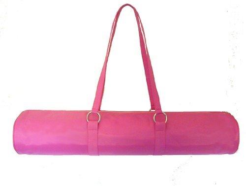Yoga Malai-Borsa per tappeto Yoga, colore: rosa acceso