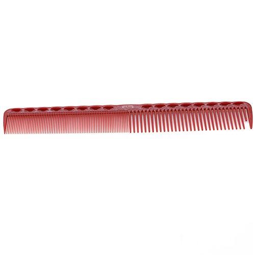 Yeucan Peigne à Dents Fines Outil de Coiffure Cheveux en Plastique Anti Statique Fournitures de Salon de Coiffure résistant à la Chaleur,vin Rouge