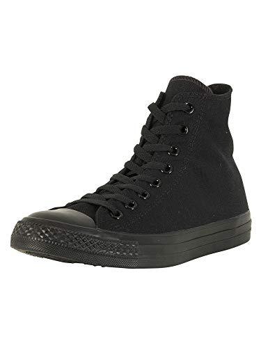 Converse C Taylor A/S, Sneaker Unisex Adulto, Black Monochrome, 45 EU