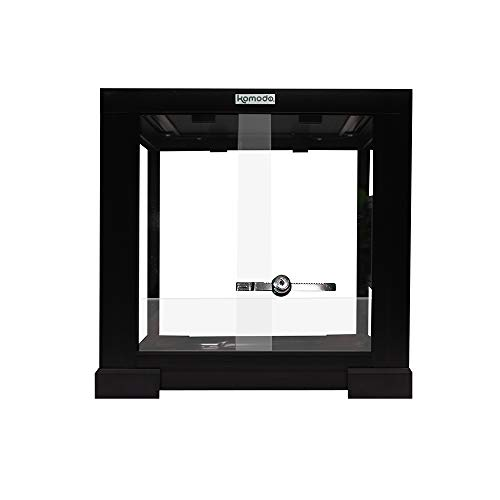 Komodo Glass Terrarium Assembled 30x30x30cm
