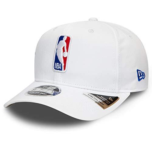 New Era NBA Logo 9Fifty Stretch Cappellino White