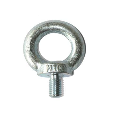 4 pcs - Boulon à oeil - M10 - galvanisé