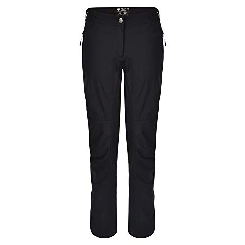 Dare 2b damen Hose Melodic II Water Repellent Multi Pocket Hiking, Schwarz, 40 (Herstellergröße: 14)