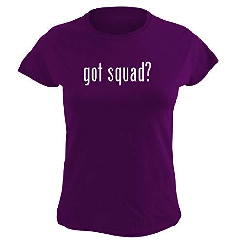 Harding Industries got Squad? – playera gráfica para mujer, Púrpura, M