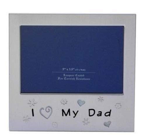 """Joe Davies Cornice portafoto """"I Love My Dad """". Ideale Come Regalo di Natale, per la Festa del papà e per Un Compleanno"""