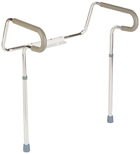 Sammons Preston Toilet Safety Frame, Toilet Handles for Elderly, Adjustable Commode Rails for Fall Prevention, Limited…
