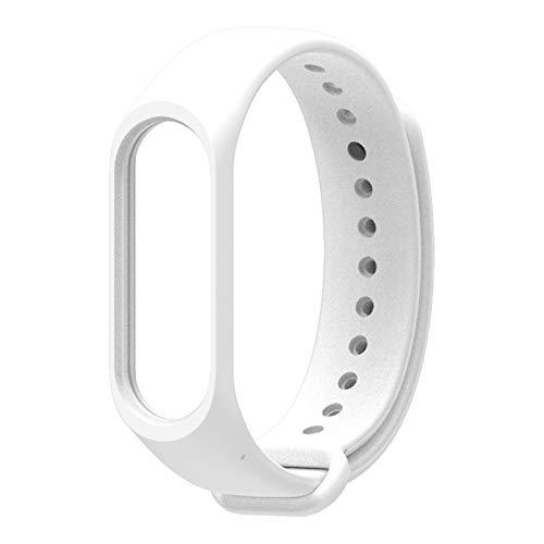 GZA Accesorios de Reloj de Pulsera Inteligente para Xiaomi MI Banda 4 Nuevo reemplazo Silicone Strap Strap Watch Band Smart Watch (Color : 5)