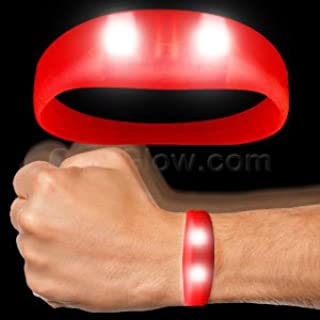 Fun Central LED Motion Activated Wristband - Red