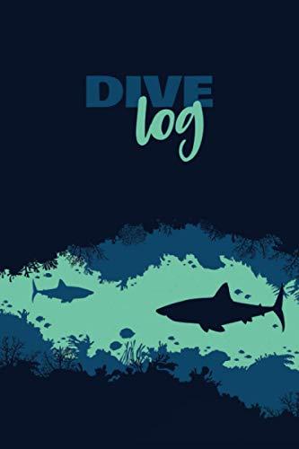 Dive Log: Compact & Lightweight Scuba Diving Log Book for 122 Dives