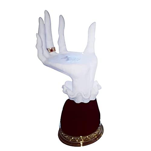 Fashion Witch Hands Skeleton Hand Holder, Witch HandCandlestick, Candle Holder Gótico, Resina Witch Candle Holder, Halloween Creative Witch Hand Candelabro para colgar en la pared Decoración