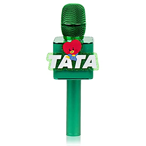 BTS Bluetooth Wireless Mic & Speaker, All Seven BTS Characters in Their Own Cute Colors (TATA)