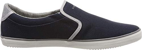 bugatti Herren 321502656900 Slip On Sneaker, Blau, 42 EU